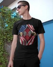 Dirt track racing US Classic T-Shirt apparel-classic-tshirt-lifestyle-17