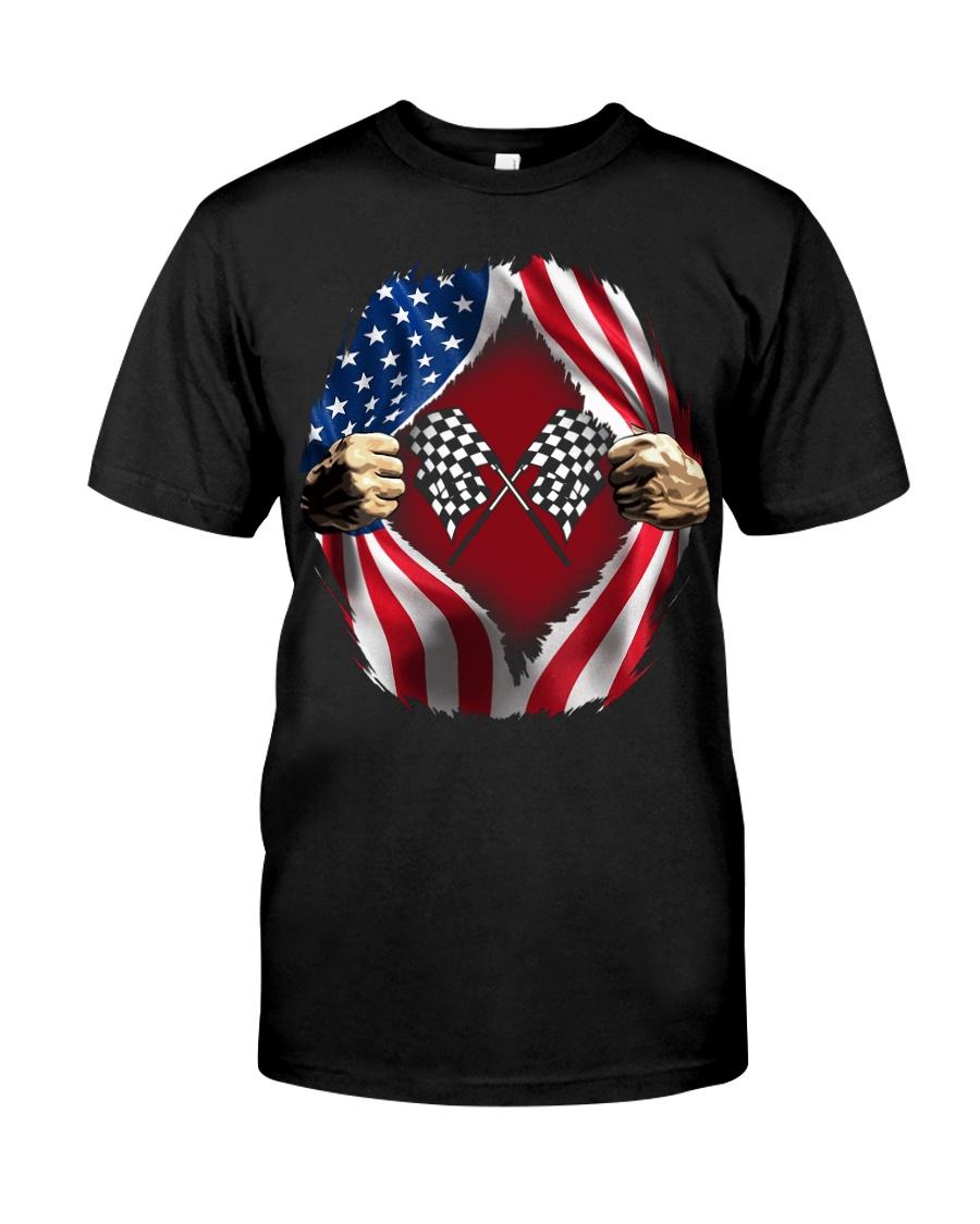 Dirt track racing US Classic T-Shirt