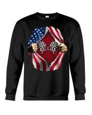 Dirt track racing US Crewneck Sweatshirt thumbnail