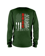 Drag Racing Flag Fourth of July Long Sleeve Tee thumbnail
