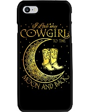 I love my cowgirl to the moon and back Phone Case thumbnail