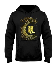 I love my cowgirl to the moon and back Hooded Sweatshirt thumbnail