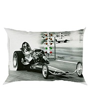 VINTAGE Drag Racing Poster - Landscape Rectangular Pillowcase thumbnail