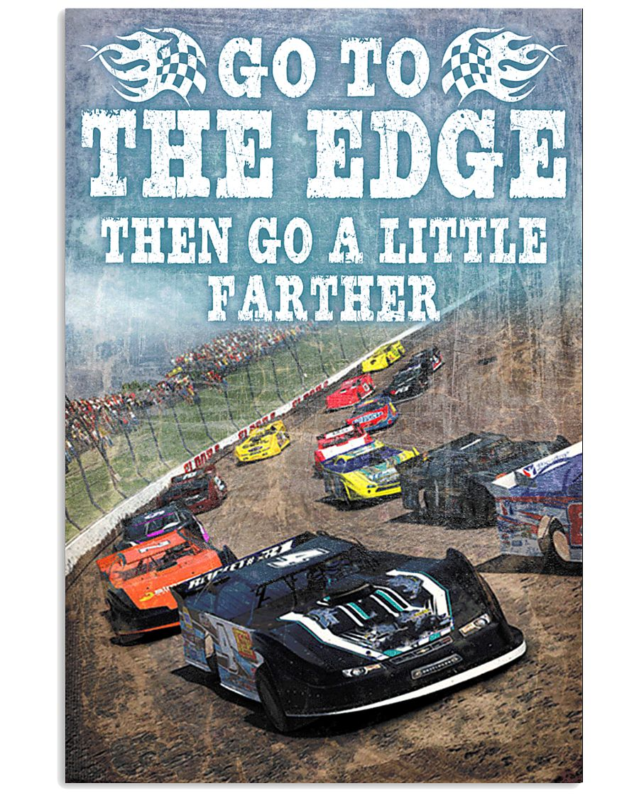 DIRT TRACK - GO TO THE EDGE 11x17 Poster