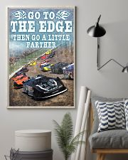 DIRT TRACK - GO TO THE EDGE 11x17 Poster lifestyle-poster-1