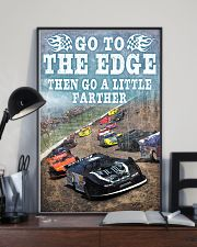 DIRT TRACK - GO TO THE EDGE 11x17 Poster lifestyle-poster-2