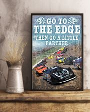 DIRT TRACK - GO TO THE EDGE 11x17 Poster lifestyle-poster-3