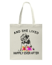 HOCKEY HAPPILY EVER AFTER Tote Bag thumbnail