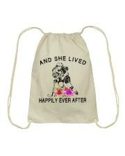 HOCKEY HAPPILY EVER AFTER Drawstring Bag thumbnail