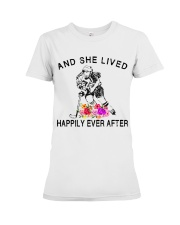 HOCKEY HAPPILY EVER AFTER Premium Fit Ladies Tee thumbnail