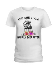 HOCKEY HAPPILY EVER AFTER Ladies T-Shirt thumbnail