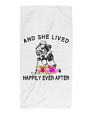 HOCKEY HAPPILY EVER AFTER Beach Towel thumbnail