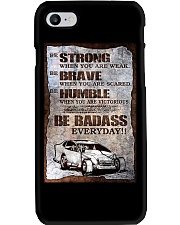 DIRT TRACK - BE STRONG Phone Case thumbnail