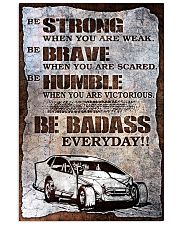 DIRT TRACK - BE STRONG 11x17 Poster front