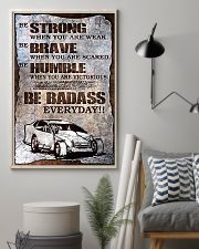 DIRT TRACK - BE STRONG 11x17 Poster lifestyle-poster-1