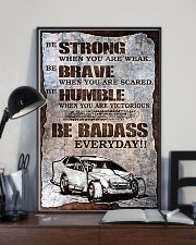 DIRT TRACK - BE STRONG 11x17 Poster lifestyle-poster-2