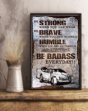 DIRT TRACK - BE STRONG 11x17 Poster lifestyle-poster-3