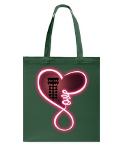 Love drag racing Tote Bag tile