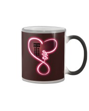 Love drag racing Color Changing Mug tile