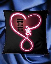 Love drag racing Square Pillowcase aos-pillow-square-front-lifestyle-38