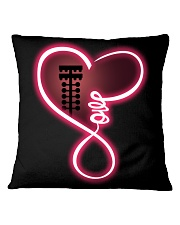 Love drag racing Square Pillowcase tile