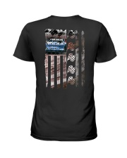 DIRT TRACK RACING Ladies T-Shirt thumbnail