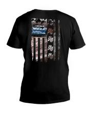 DIRT TRACK RACING V-Neck T-Shirt thumbnail