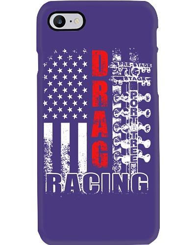 Drag racing flag