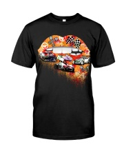Dirt track racing lips Classic T-Shirt thumbnail