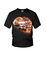 Dirt track racing lips Youth T-Shirt thumbnail
