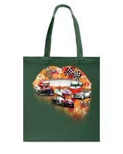 Dirt track racing lips Tote Bag thumbnail