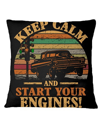 Drag racing - Keep calm and start your engines