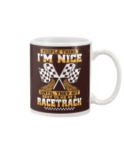 Dirt track racing nice Mug thumbnail