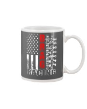 Drag racing flag Mug thumbnail