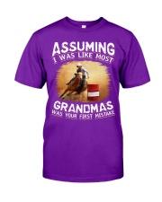 BARREL RACER GRANDMAS Classic T-Shirt thumbnail