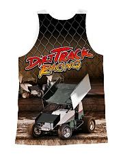 DIRT TRACK RACING SPRINT CAR RACING 3D shirt All-over Unisex Tank back