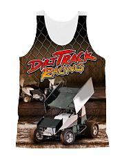 DIRT TRACK RACING SPRINT CAR RACING 3D shirt All-over Unisex Tank front