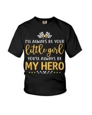 Dirt track racing - little girl Youth T-Shirt thumbnail