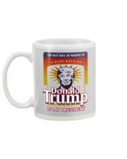 DONALD TRUMP IS MY PRESIDENT Mug back