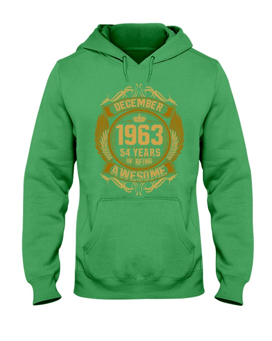 1963 December Hooded Sweatshirt