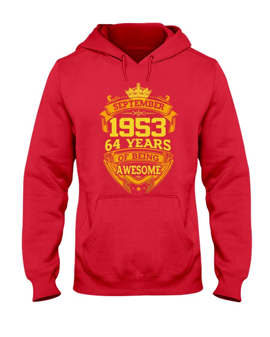 1953 September  Hooded Sweatshirt