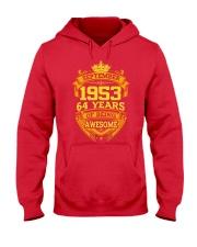 1953 September  Hooded Sweatshirt front