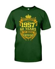 1957 September  Classic T-Shirt front