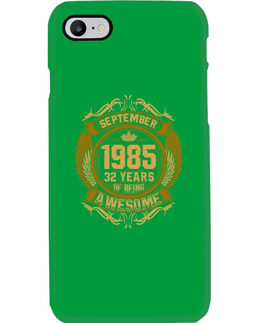1985 September  Phone Case