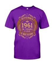 1961 September  Classic T-Shirt front