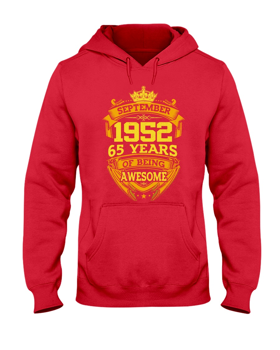 1952 September  Hooded Sweatshirt