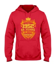 1952 September  Hooded Sweatshirt front