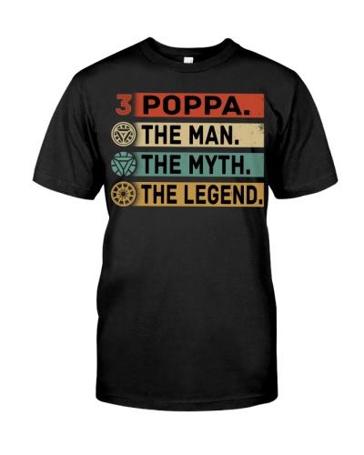 POPPA THE MAN THE MYTH THE LEGEND 3000