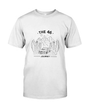 THE46 JOURNEY WHITE Classic T-Shirt front