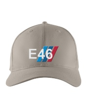 E FOURSIX Embroidered Hat front